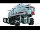 Custom RC Clone TURBO TANK 2010 Lego Star Wars Stop Motion Animation 7261 8098 75151