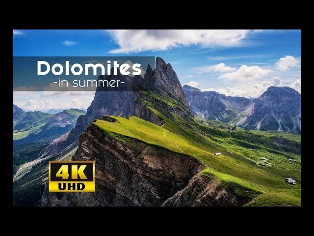 Dolomites - Südtirol, Alto Adige, South Tyrol 4k