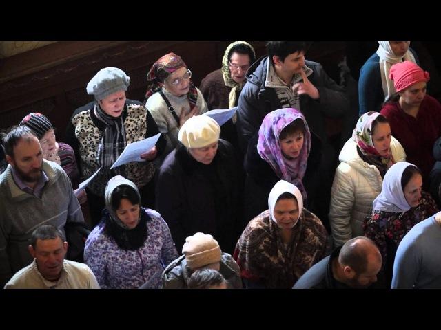 Воскресение Христово видевше, Ты моя Мати Царице Небесная - храм Рождества Богор...