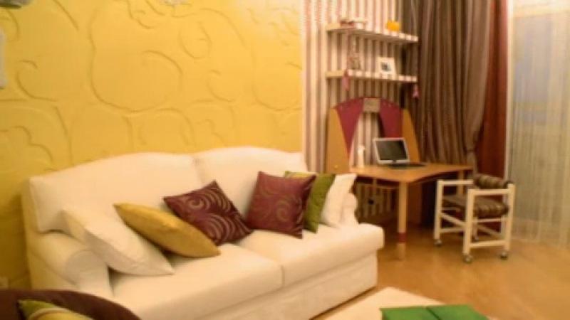 Про декор 31 выпуск Желто полосатая гостиная