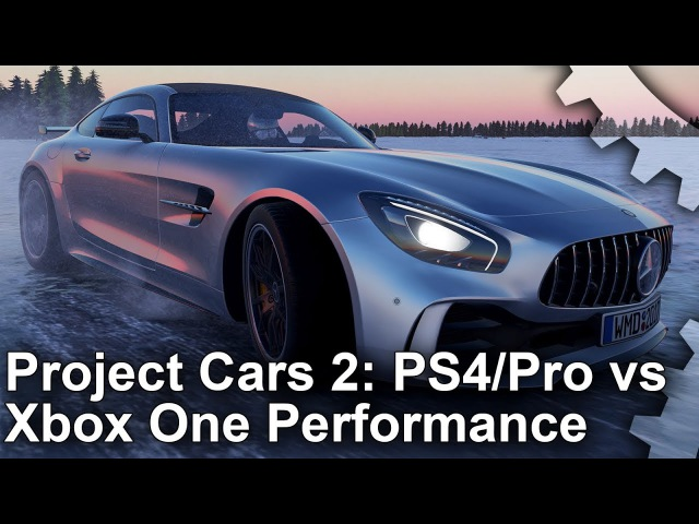 [4K] Project Cars 2: PS4/ PS4 Pro/ Xbox One Frame-Rate Test Resolution Analysis!