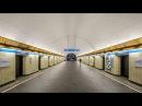 Станция метро ,,Петроградская. Горизонтальный лифт