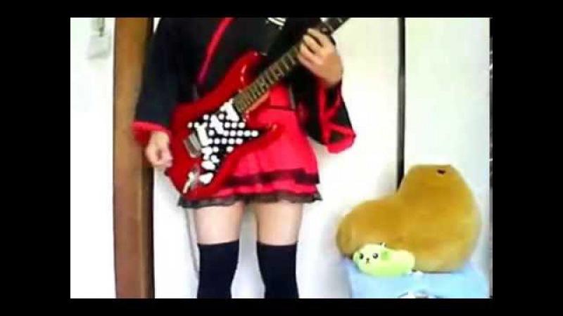 メタル布教活動としてBelieverのギターを弾いてみた