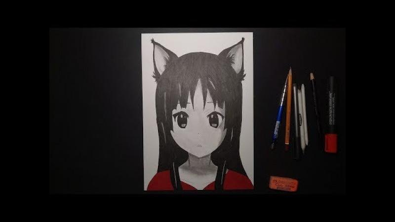 Anime K-On! (аниме Кэйон!) art за 1 час