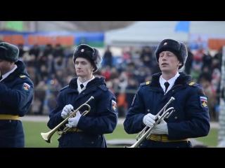 Открытие 171 моторизованного батальона ВДВ