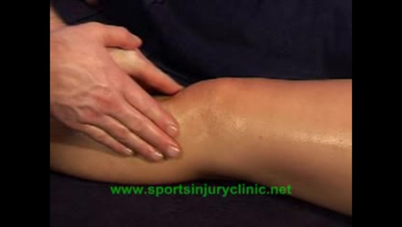 Sports Massage for the Knee