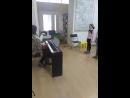 """занятие детского ансамбля в музыкальной школе """"Виртуозы"""" Уфа"""