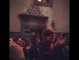 Дэниел на съёмочной площадке сериала «Медичи: Повелители Флоренции» в Риме, Италия | 05.12.17