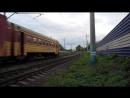 ЭМ2-009 Путеец 07 Россия, Пермь, перегон Бахаревка - Пермь-II Дата 16.09.2017