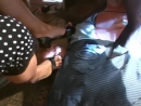 Double Office High Heel Trample and Torture by Two French Girls