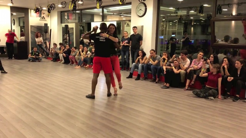 Paulo Isidoro Dos Reis master of masters 5h Kizomba Semba Workshop in Bucharest 2017