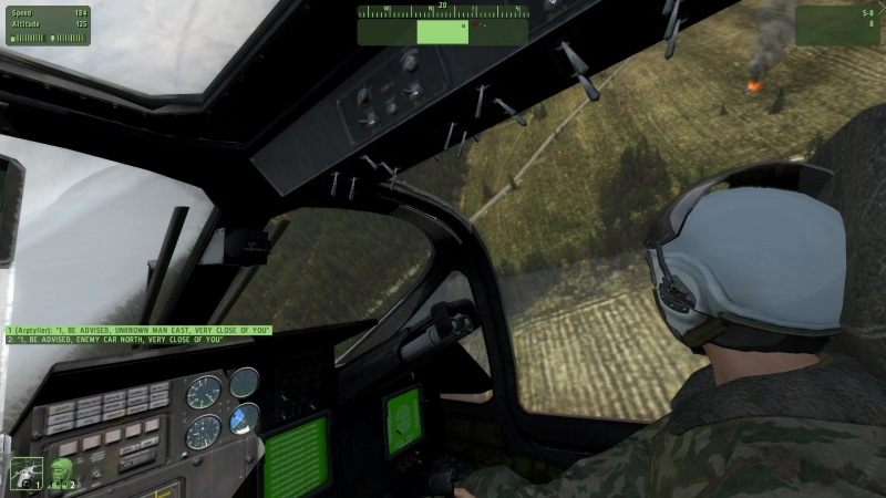 Заклинило рулевое KA-52