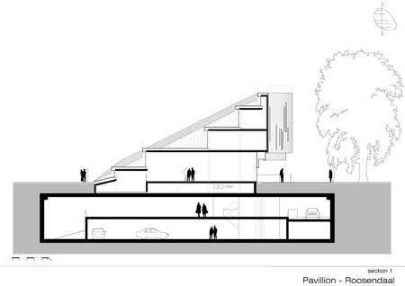 Roosendaal Market Square Pavilion / René van Zuuk Architekten