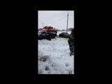 В сети появилась видеозапись последствий аварии под Смоленском