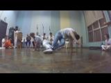 Onça Branca (Marrom e Alunos) e Rei de Roma (Palmares Angola Capoeira)