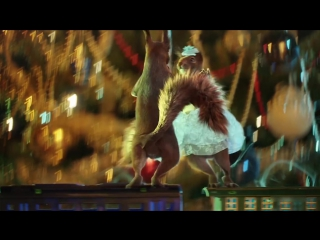 Праздники праздники русские проказники [full hd 1080p] — olisha, белки танцуют, новый год 2018