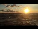 dawn in the sea 😍😍😍
