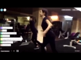 Евгения Медведева и Алина Загитова танцуют