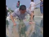 Стеклянный мост в Китае Zhangjiajie😍🤗Прошлись бы по такому мосту?