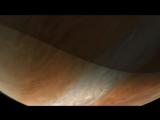 Пролетая около Юпитера