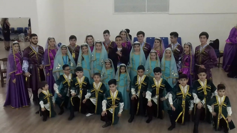 Приглашение на сольный концерт ансамбля Чинар - Азер Насибов
