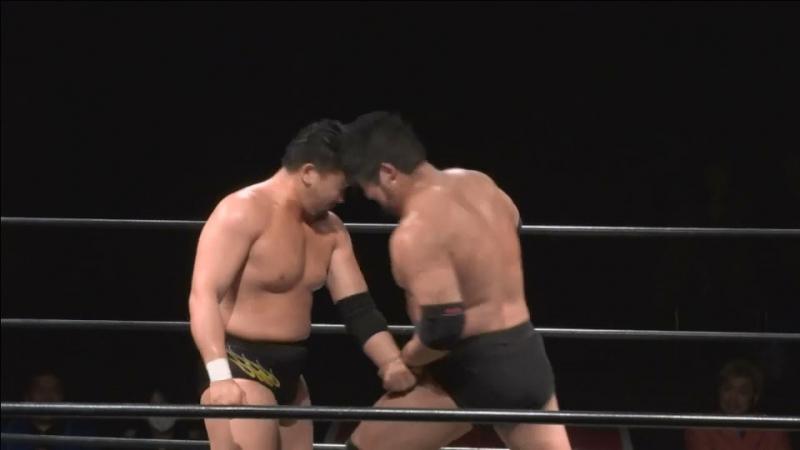 Kazusada Higuchi vs. Shuji Ishikawa (DDT - D-Ou Grand Prix 2018 In Shin-Kiba - Day 7)