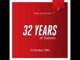 Авиакомпании Emirates из Дубая исполнилось 32 года