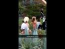 Justin and Selena in Laguna Beach, California