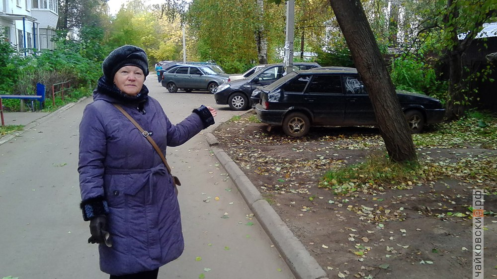 парковка, Чайковский, 2017 год