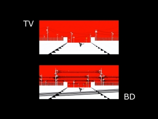 TV vs BD Kagerou Daze (Mekakucity Actors)