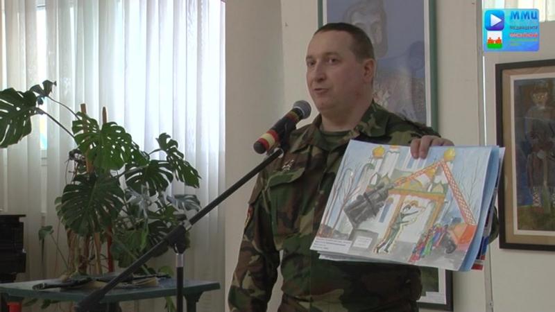 Выступление Александр Горчаков на собрании юнамейских отрядов Можайского муниципального района.