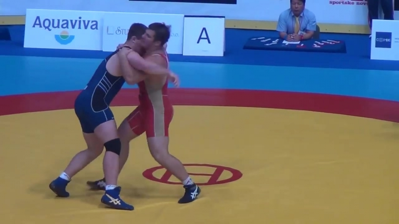 JR WORLD GR_ 120 semis -Semenov (RUS) dec. Coon (USA)