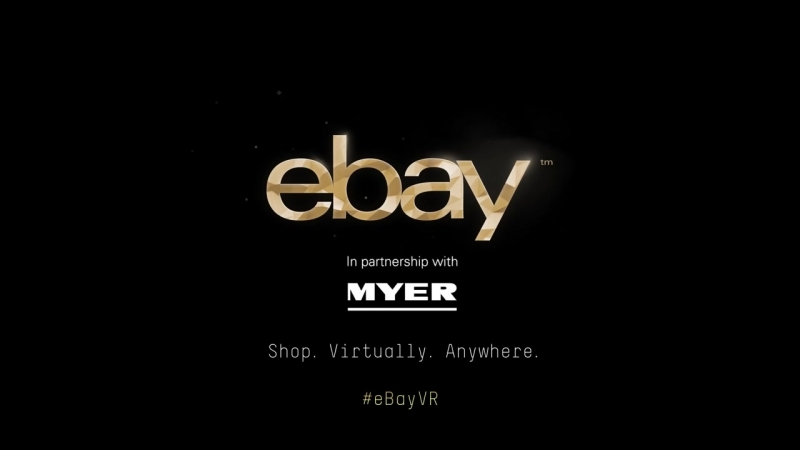 The Worlds First Virtual Reality Department Store - brought to you by eBay and Myer