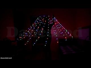 Светодиодный пиксельный Водный цветок/Медуза