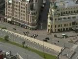 Путин едет по стране  инаугурация-2012 и мертвая Москва