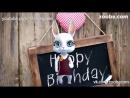 Zoobe Зайка Поздравление с днем рождения