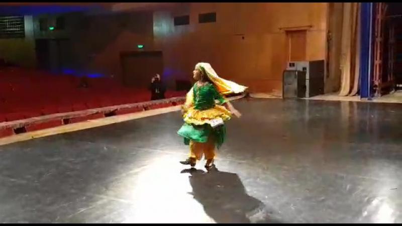 Ерошкина Соня Российская Танцевальная Неделя 2017 . бэби ,фолк ,2 место