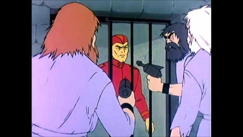 Birdman and the Galaxy Trio - S01E05 - Nitron the Human Bomb - The Galaxy Trio and the Peril of the Prison Planet - Mentok, the