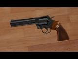 Blender.  Моделирование револьвера.  Часть 1