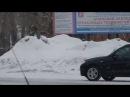 ЧП Ачинск   сводки чп: Ачинск обрастает сугробами?
