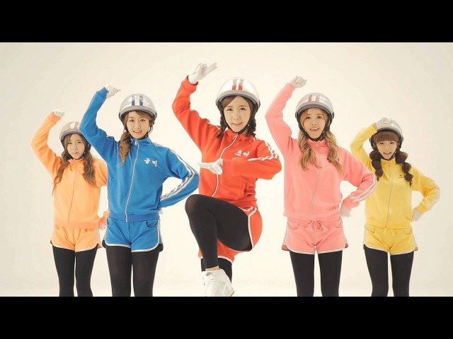 [Crayon Pop] 크레용팝 빠빠빠(Bar Bar Bar) - MV (안무버젼)