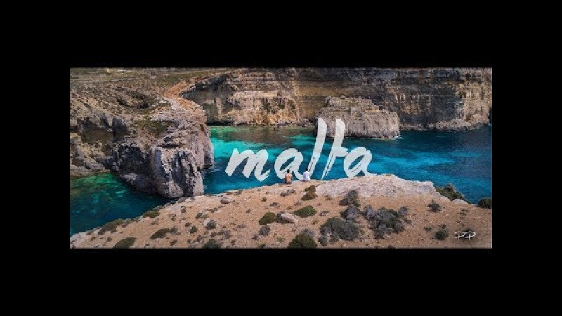 MALTA Summer Trip - Blue Lagoon from the Top | 4k