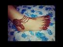 Beautiful Anklet Mehndi | Design Payal | Mehndi Pazeb Henna For feet jewellery design mehndi