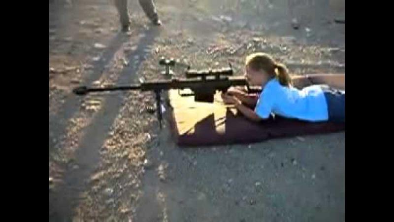 Оружие и Женщина. - Barret - 50 Cal