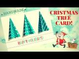 Christmas Tree Card Handmade 🎁 3d card making step by step 🎁  DIY crafts #christmas #happynewyear