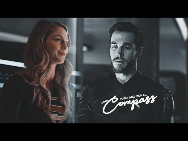 Kara and Mon El I Compass (2x10)