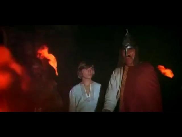 Беседа Святослава с чернецом.