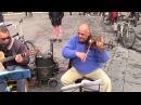 Rom Draculas - Incredible street musicians in Florence (Libertango - Astor Piazzola)