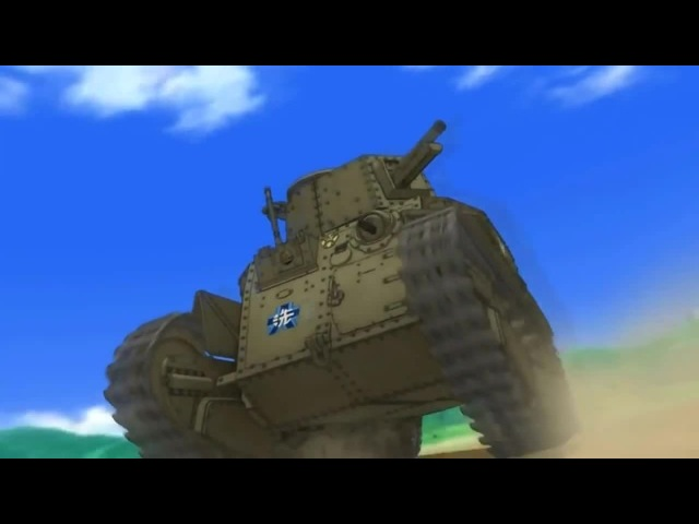 С ДОБРЫМ УТРОМ!) / Luciano Pavarotti - La Donna È Mobile / Девушки и танки / AMV anime / MIX anime