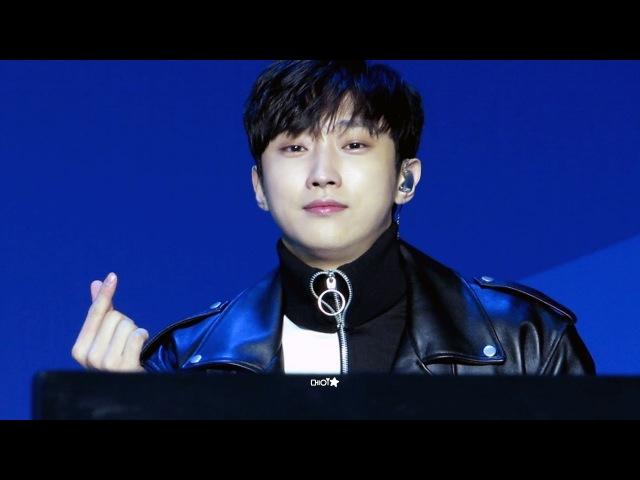 [180215] B1A4 평창 헤드라이너쇼 1 - 이게무슨일이야 (진영 focus)